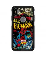 Spider-Man Vintage Comic Otterbox Commuter iPhone Skin