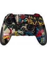 Spider-Man Vintage Comic PlayStation Scuf Vantage 2 Controller Skin