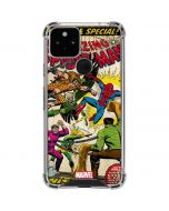 Spider-Man vs Sinister Six Google Pixel 5 Clear Case