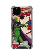 Spider-Man vs. Mysterio Google Pixel 5 Clear Case