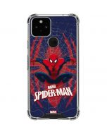 Spider-Man Web Google Pixel 5 Clear Case