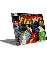 Spider-Woman #1 Apple MacBook Air Skin