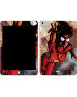 Spider-Woman In Action Apple iPad Skin