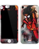 Spider-Woman In Action Apple iPod Skin