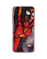 Spider-Woman In Action Moto G8 Plus Clear Case