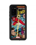 Spider-Woman Origins Galaxy S20 Waterproof Case