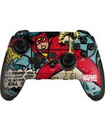 Spider-Woman Origins PlayStation Scuf Vantage 2 Controller Skin