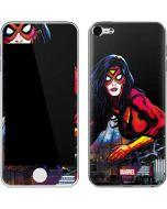Spider-Woman Skyline Apple iPod Skin