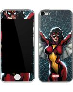 Spider-Woman Web Apple iPod Skin