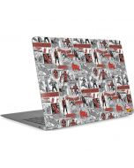 Spidey Comic Pattern Apple MacBook Air Skin