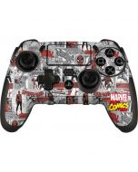 Spidey Comic Pattern PlayStation Scuf Vantage 2 Controller Skin