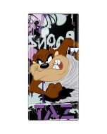Splatter Paint Tasmanian Devil Galaxy Note 10 Skin