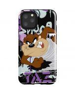 Splatter Paint Tasmanian Devil iPhone 11 Pro Impact Case