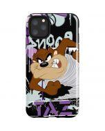Splatter Paint Tasmanian Devil iPhone 11 Pro Max Impact Case