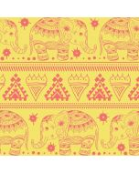 Tribal Elephant Yellow Nintendo Switch Pro Controller Skin