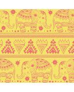 Tribal Elephant Yellow iPhone X Skin
