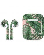 Spring Palm Leaves Apple AirPods Skin