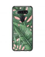 Spring Palm Leaves LG K51/Q51 Clear Case