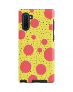 Spring Yellow Polka Dots Galaxy Note 10 Pro Case