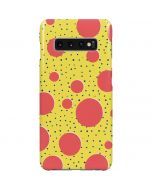 Spring Yellow Polka Dots Galaxy S10 Plus Lite Case