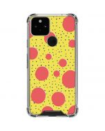 Spring Yellow Polka Dots Google Pixel 5 Clear Case