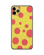 Spring Yellow Polka Dots iPhone 11 Pro Max Skin