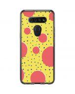 Spring Yellow Polka Dots LG K51/Q51 Clear Case