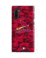 St Louis Cardinals Digi Camo Galaxy Note 10 Pro Case