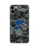 St. Louis Blues Camo iPhone 11 Pro Max Skin
