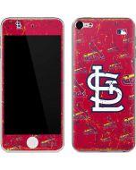 St. Louis Cardinals - Cap Logo Blast Apple iPod Skin