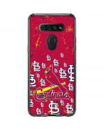 St. Louis Cardinals - Primary Logo Blast LG K51/Q51 Clear Case