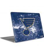 St. Louis Blues Frozen Apple MacBook Air Skin