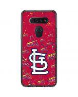 St. Louis Cardinals - Cap Logo Blast LG K51/Q51 Clear Case