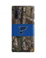 St. Louis Blues Realtree Xtra Camo Galaxy Note 10 Pro Case