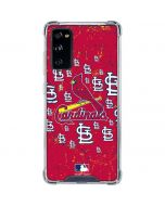 St. Louis Cardinals - Primary Logo Blast Galaxy S20 FE Clear Case