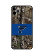 St. Louis Blues Realtree Xtra Camo iPhone 11 Pro Max Skin