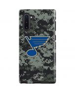 St. Louis Blues Camo Galaxy Note 10 Pro Case