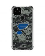 St. Louis Blues Camo Google Pixel 5 Clear Case