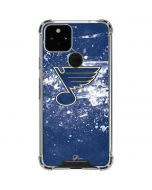 St. Louis Blues Frozen Google Pixel 5 Clear Case