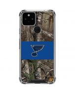 St. Louis Blues Realtree Xtra Camo Google Pixel 5 Clear Case
