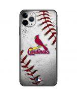 St. Louis Cardinals Game Ball iPhone 11 Pro Max Skin