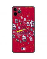 St. Louis Cardinals - Primary Logo Blast iPhone 11 Pro Max Skin