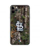 St. Louis Cardinals Realtree Xtra Green Camo iPhone 11 Pro Max Skin