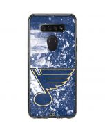 St. Louis Blues Frozen LG K51/Q51 Clear Case