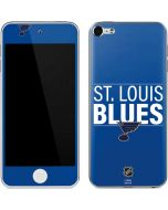 St. Louis Blues Lineup Apple iPod Skin