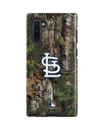 St. Louis Cardinals Realtree Xtra Green Camo Galaxy Note 10 Pro Case