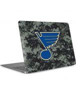St. Louis Blues Camo Apple MacBook Air Skin