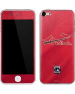 St. Louis Cardinals - Cooperstown Distressed Apple iPod Skin