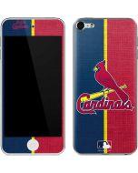 St. Louis Cardinals Split Apple iPod Skin