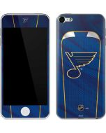 St. Louis Blues Home Jersey Apple iPod Skin